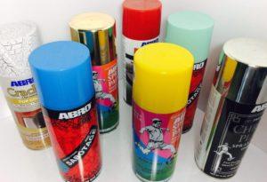 Как выбрать акриловую краску в баллончиках?