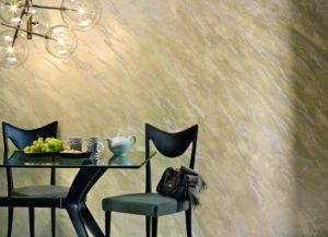 Декоративная краска для стен с эффектом песка: интересные варианты в интерьере