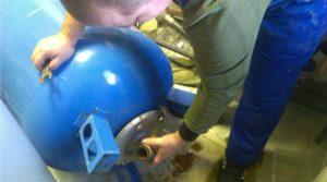 Замена мембран в гидроаккумуляторах: рекомендации по демонтажу и установке