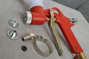 Картушный пистолет для штукатурки: особенности применения