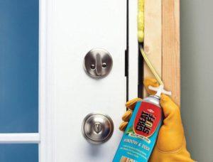 Как звукоизолировать дверь?