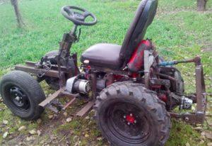 Как сделать мини-трактор из мотоблока?