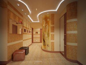 Жидкие обои в коридоре: идеи для интерьера