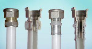 Методы соединения металлопластиковых труб