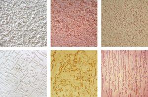 Фасадная декоративная штукатурка: разновидности и свойства