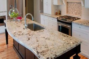 Особенности мраморных и гранитных столешниц для кухни