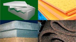 Утеплители: виды и особенности материалов