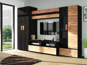 Мебельные стенки в различных стилях