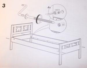 Детские раздвижные кровати Ikea: советы по выбору и инструкция сборки