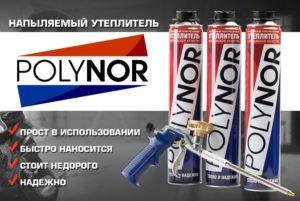 Особенности напыляемого утеплителя Polynor