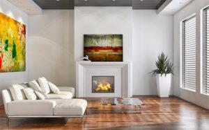 Выбираем красивые и стильные картины для гостиной