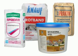 Особенности штукатурной смеси для наружных работ