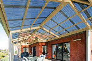 Как сделать крышу из поликарбоната?