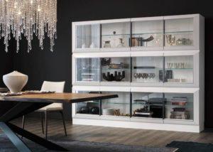 Серванты для посуды в гостиную: стильные решения для интерьера