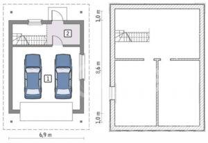 Как выбрать оптимальный размер гаража на две машины?
