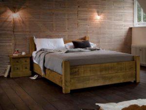 Кровати в стиле лофт
