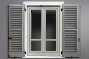 Металлические ставни на окна: виды и формы конструкций