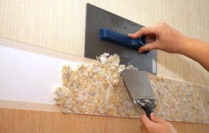 Как правильно наносить шелковую штукатурку?