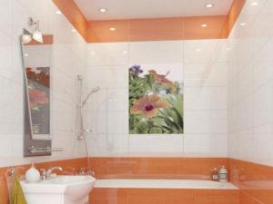 Как выбрать панно из плитки в ванную?