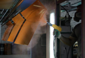 Технология применения порошковой краски