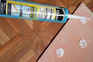 Жидкие гвозди для керамической плитки: плюсы и минусы