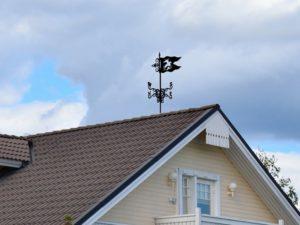 Флюгеры для крыши частного дома: от идей до воплощения