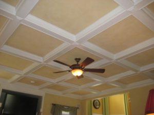 Тонкости отделки потолка