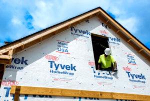Особенности ветрозащитной продукции Housewrap Tyvek от DuPont