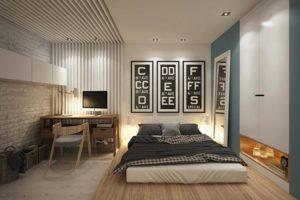 Подбираем интерьер для спальни-кабинета