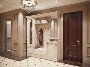 Мебель для прихожей в классическом стиле