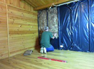 Утепление деревянного дома внутри: чем и как это лучше сделать?
