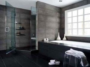 Отделка ванной комнаты плиткой: модные идеи и современный дизайн