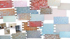 Панели ПВХ под кирпич: преимущества и особенности укладки