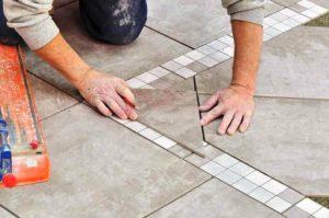 Укладка плитки: тонкости процесса