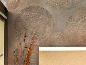Декоративная штукатурка Travertino: красивые варианты отделки стен в интерьере