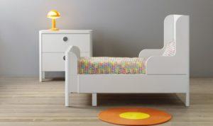 Особенности раздвижных кроватей Ikea