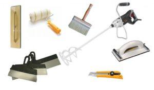 Правило для штукатурки: выбор инструмента для отделочных работ