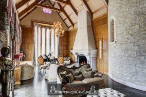 Проект дома в стиле замка: примеры интерьеров