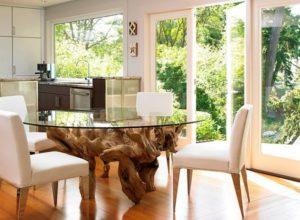 Необычные столы в интерьере