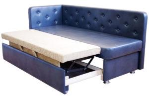 Как выбрать прямой диван со спальным местом на кухню?