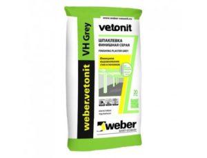 Финишная шпаклевка Vetonit: виды и состав