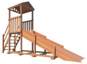 Рекомендации по изготовлению деревянных детских горок