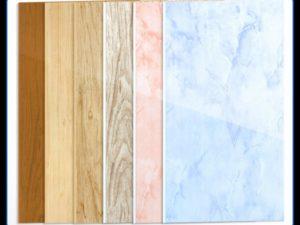Разновидности и свойства пластиковых панелей для стен