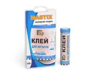Как применять холодную сварку Mastix?