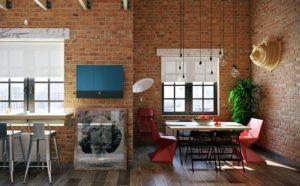 Кирпичная стена: особенности дизайна, создания и ухода за поверхностью