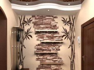 Плитка для стен в коридоре: необычные идеи