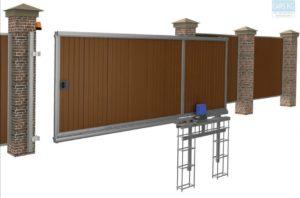 Как отремонтировать откатные ворота?
