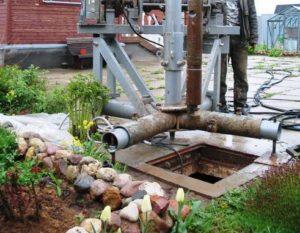 Как бурить скважину на воду?