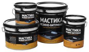 Резино-битумная мастика: технические характеристики и сфера применения