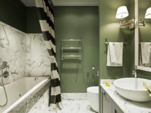 Ванная комната площадью 4 кв. метра: идеи гармоничного дизайна